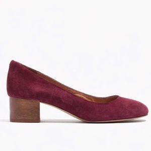 Madewell Ella Block heels